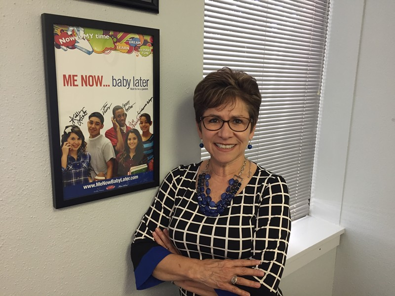 Evelyn Delgado, president/CEO of Healthy Futures - SANFORD NOWLIN