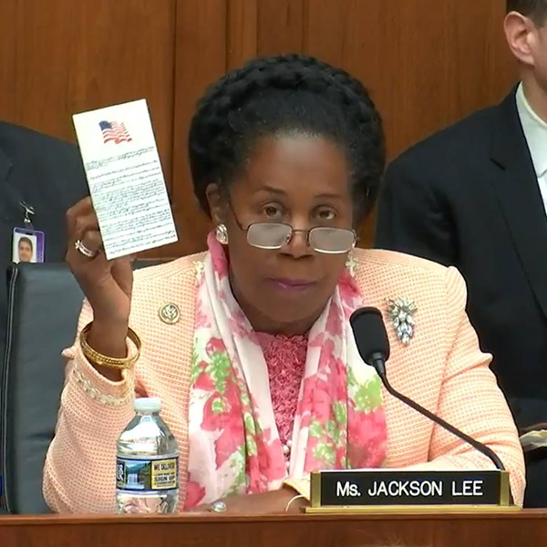 Sheila Jackson Lee is one of only three women elected to represent the state of Texas at the federal level. - VIA SHEILA JACKSON LEE'S FACEBOOK PAGE