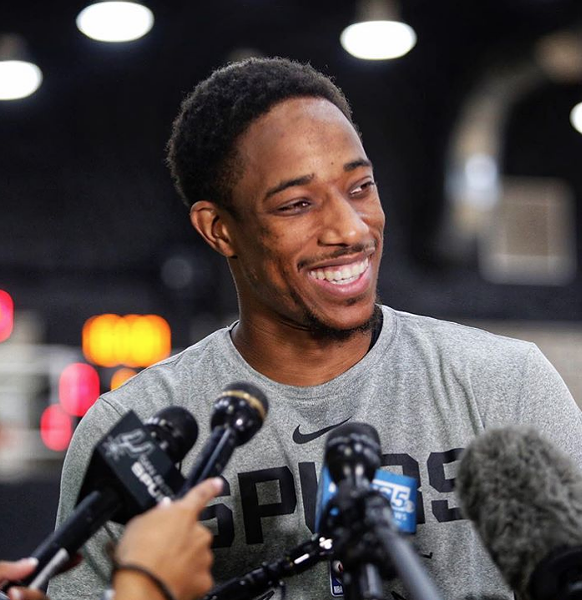 DeMar DeRozan: 'Every day is getting better. Our communication with one another is great.' - INSTAGRAM / SPURS