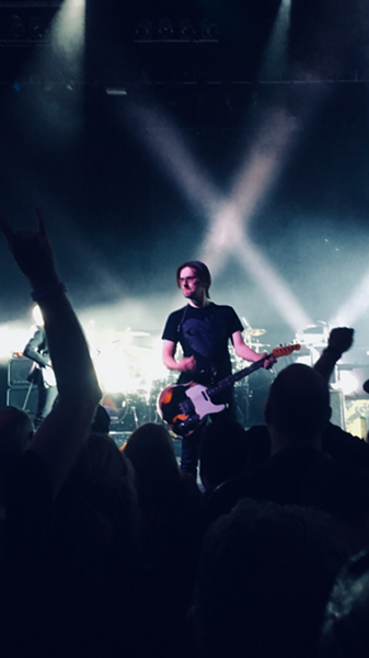 Porcupine Tree's Steven Wilson performed Friday night at the Aztec Theatre. - MICHAEL MCMAHAN