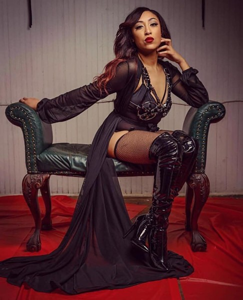 Lola Noir styled by Erica Reyna and photographed by Rico Olguin - COURTESY OF LA SANTA LUNA
