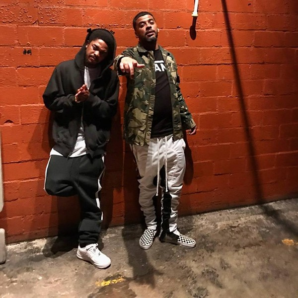 Hip-Hop artists Lil Yodaa (left) and KP Tha Profit (right) are among those from San Antonio gearing up for SXSW showcases. - FACEBOOK, YODAA MOORE
