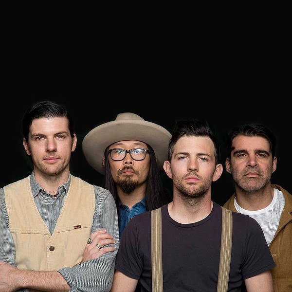 COURTESY OF THE AVETT BROTHERS