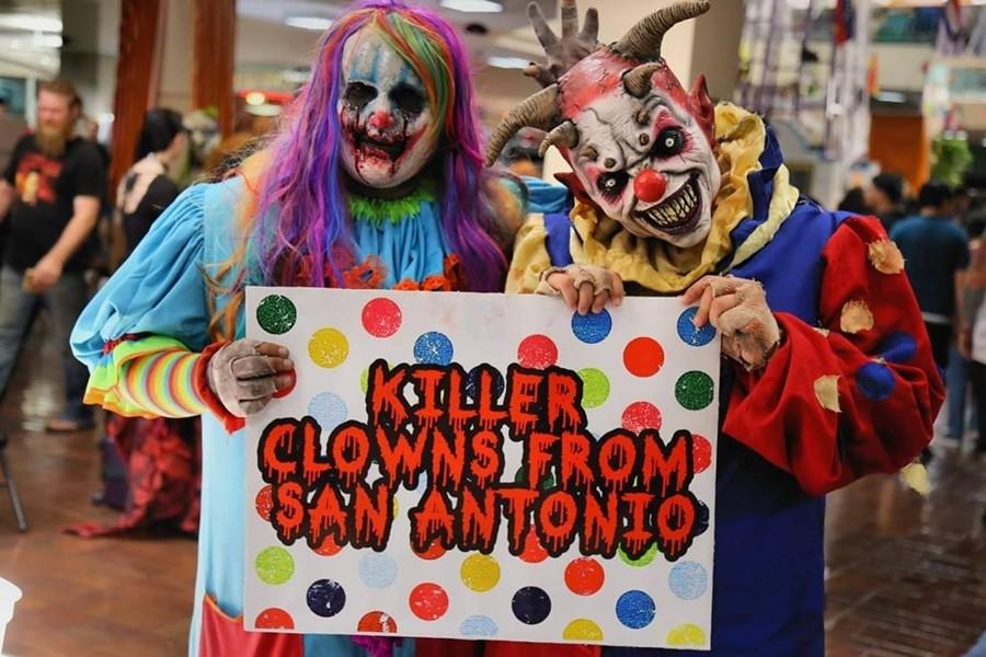 KILLER CLOWNS FROM SAN ANTONIO