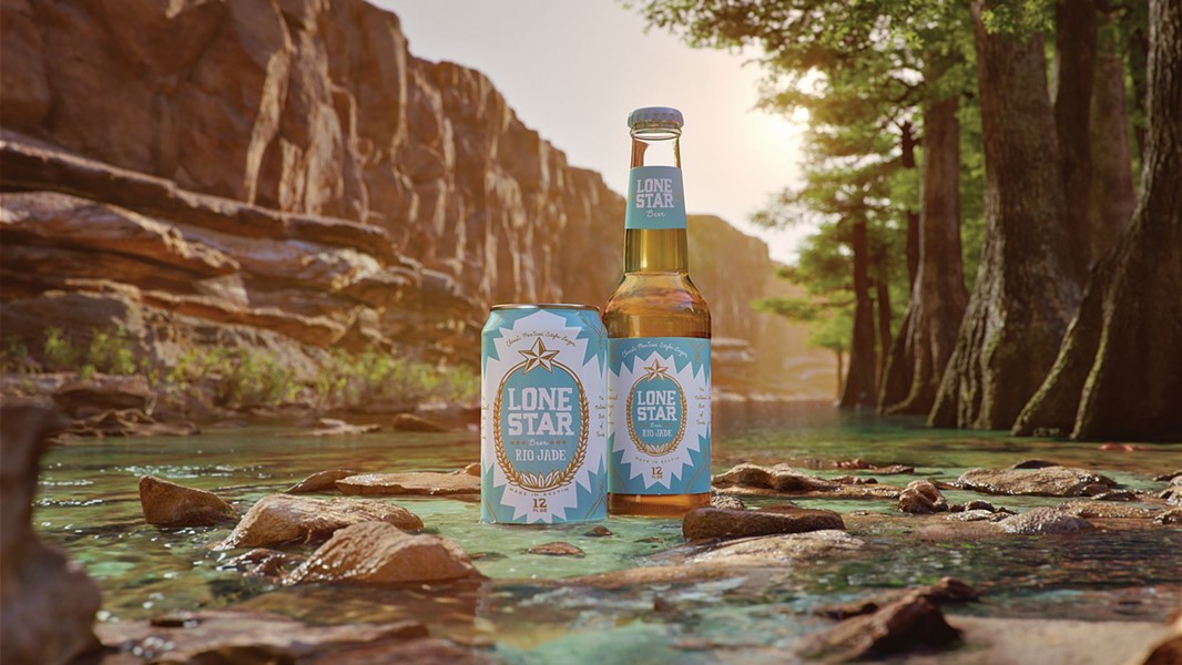 Lone Star Beer has debuted its new Rio Jade Mexican-Style Lager. - COURTESY PHOTO / LONE STAR BEER