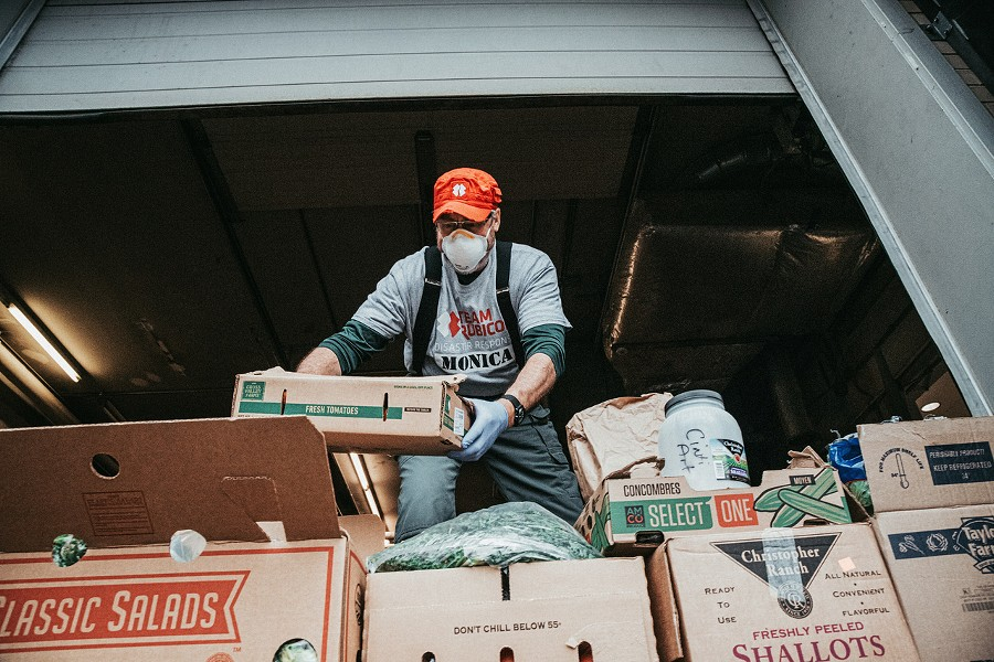 Team Rubicon, a veteran-led disaster response organization, received $23.5K from the distillery's efforts - PHOTO CREDIT: JASON WHITMAN