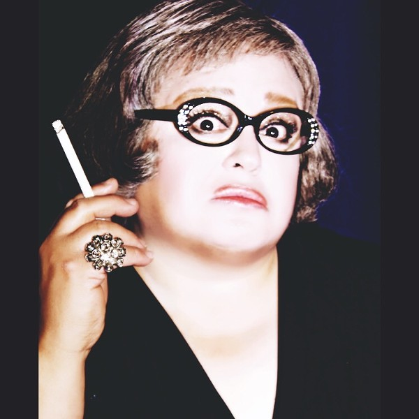 Jimmy James in character as Bette Davis - COURTESY OF JIMMY JAMES