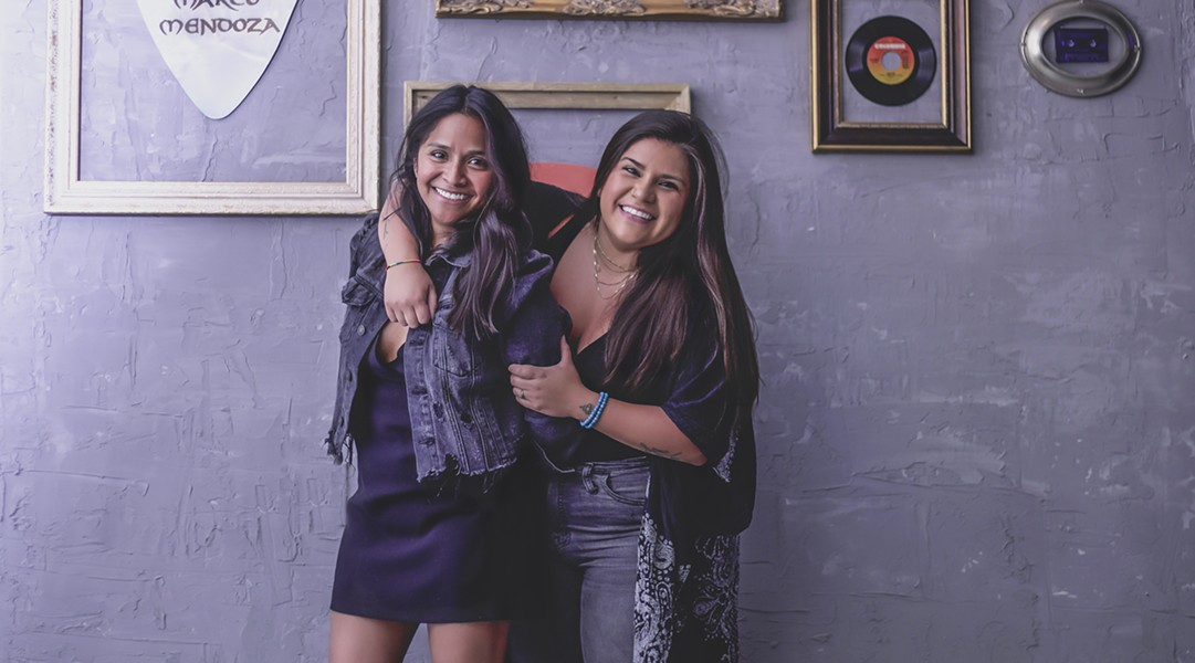 Jessica Marinez (l) and Amber Hernandez (r), have made significant upgrades to their Northside venue, Picks Bar. - COURTESY PICKS BAR