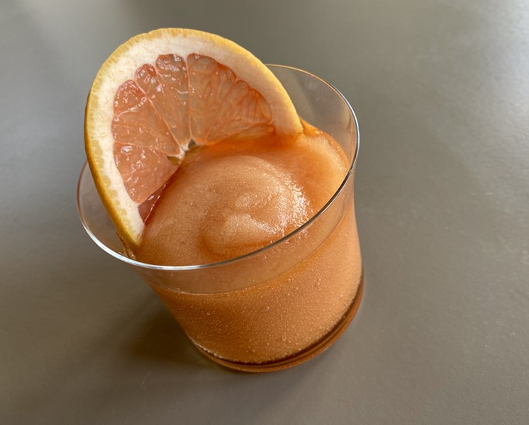The Frozen Negroni puts a brain-freezing spin on the Italian classic. - RON BECHTOL