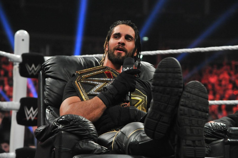 WWE World Heavyweight Champion Seth Rollins - COURTESY