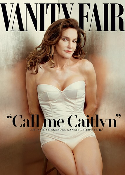 Caitlyn Jenner's revealed her post-transition self on the cover for the July issue of Vanity Fair - VANITY FAIR