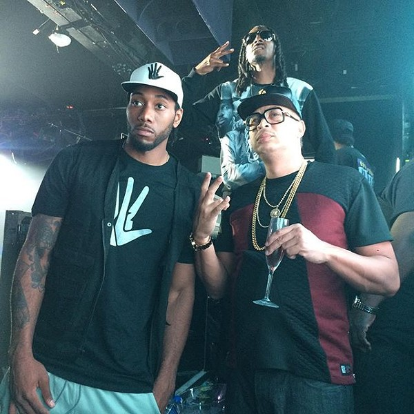 Kawhi is slowly transforming into Tim Duncan. - SNOOPDOGG/INSTAGRAM