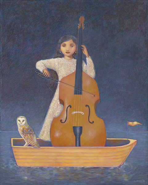 LILIANA WILSON, NIÑA CON CELLO