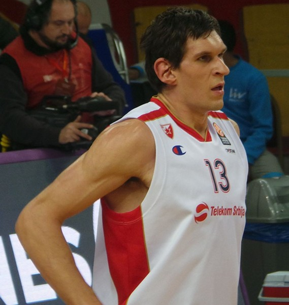 Boban Marjanovic is the newest San Antonio Spur. - WIKIMEDIA COMMONS