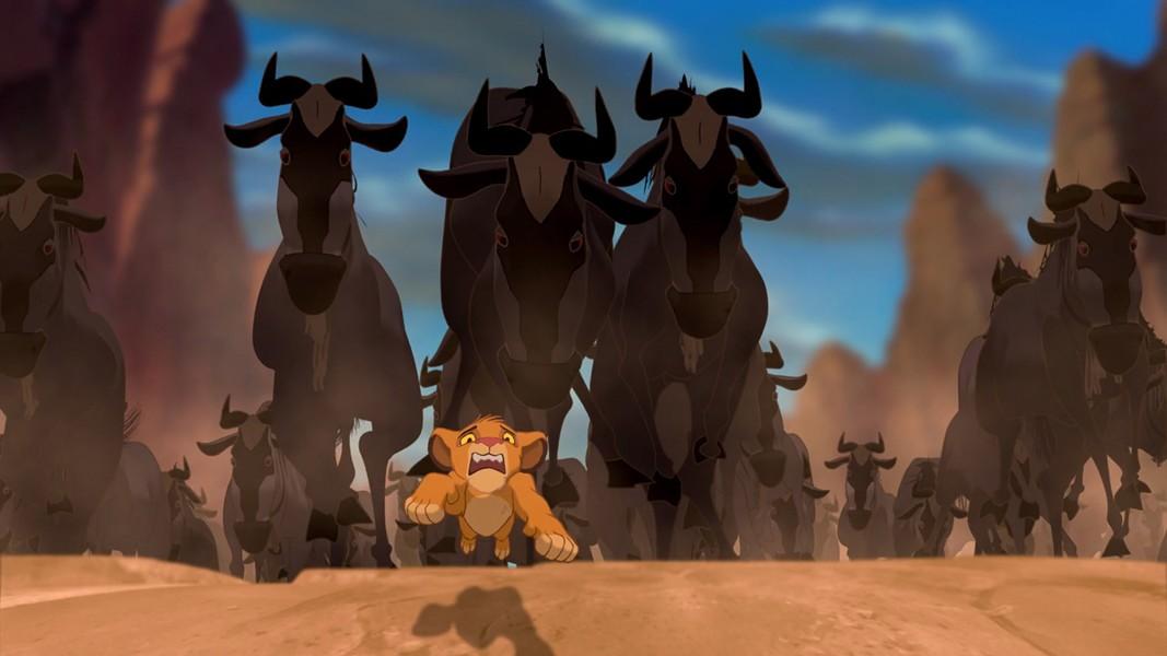 Boris Diaw escaping the Wildebeests. - DISNEY.COM
