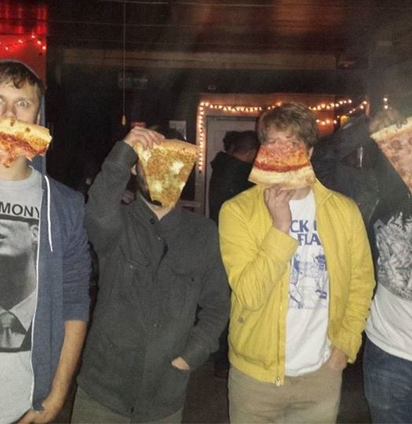 Ghost Police: pizza edition - COURTESY
