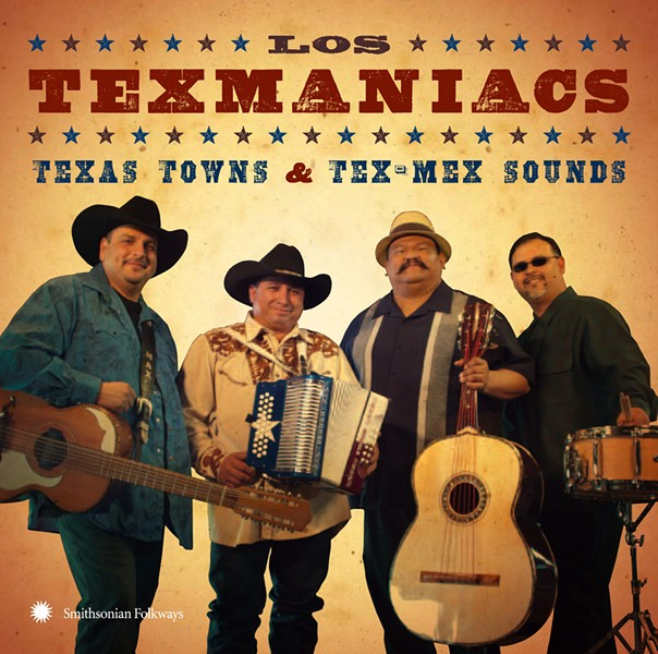 Max Baca (left) y los Texmaniacs - VIA SMITHSONIAN FOLKWAYS