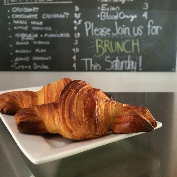 Croissant and more at La Boulangerie. - JESSICA ELIZARRARAS
