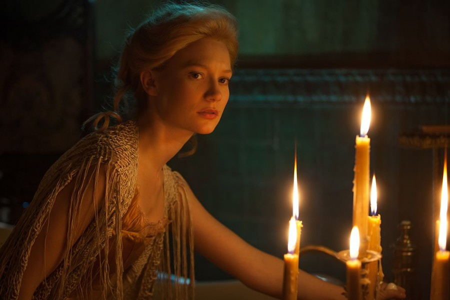 JessicanChastain in Crimson Peak. - COURTESY