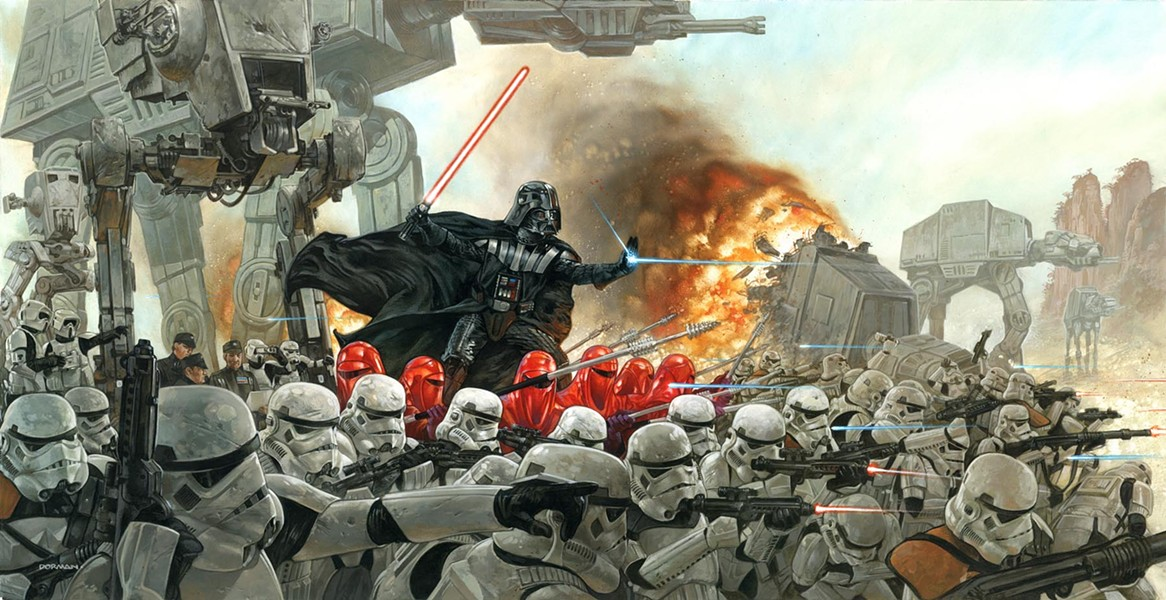 """Lord Vader's Persuasion of the Outer Rim Worlds to Join the Empire"" - DAVE DORMAN"