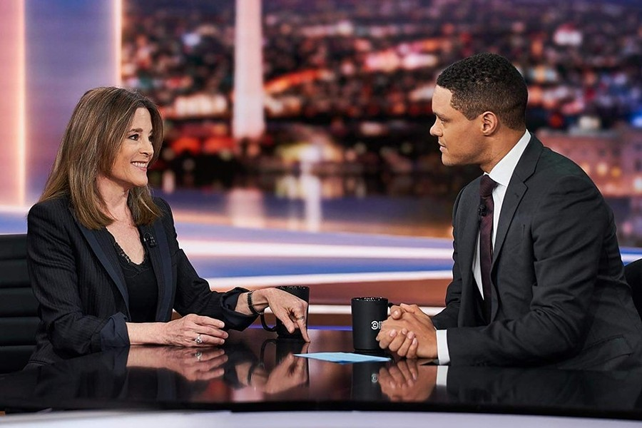 Marianne Williamson's political aspirations got a boost from celebrity endorsements. - COURTESY PHOTO / MARIANNE WILLIAMSON