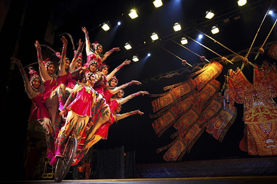 National Acrobatics and Circus of China - COURTESY