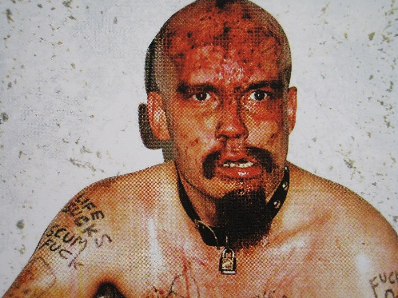 "Jesus Christ ""GG"" Allin, lover of: animals, the laughter of children, 'Nilla Wafers and sodomy. - COURTESY"