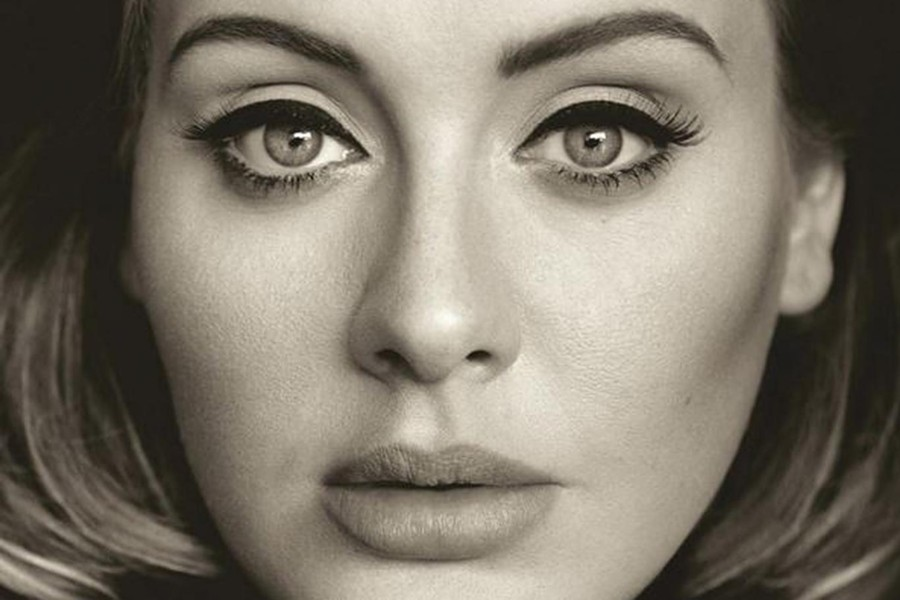 Artwork for Adele's third album, 25, to be released on November 20. - SONY MUSIC ENTERTAINMENT