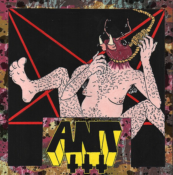 Cover art for Ants' latest release Ant III. - COURTESY