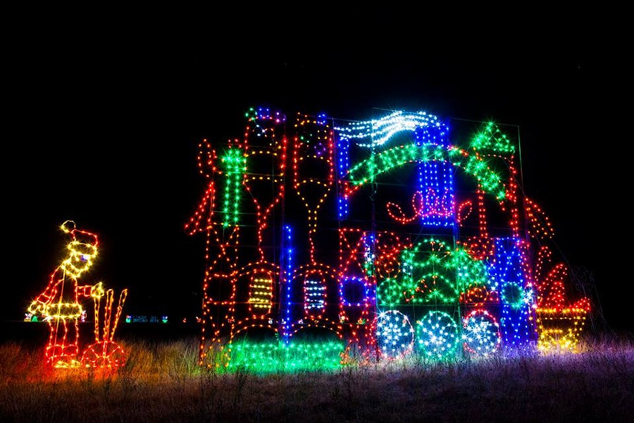 CHRISTMAS LIGHT FEST/FACEBOOK