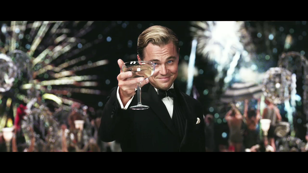 Leonard DiCaprio as Gatsby - COURTESY