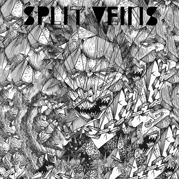 Split Veins' Destruição single - VIA BANDCAMP