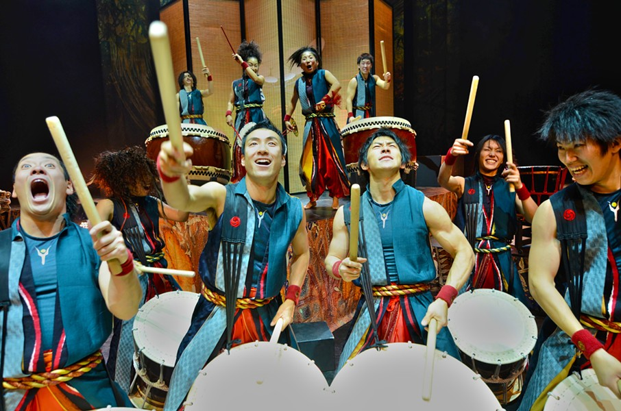 The majesty of Japan's Yamato drummers - MASA OGAWA