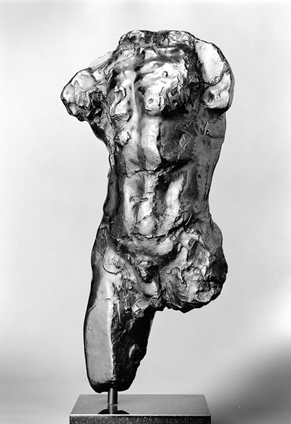 AUGUSTE RODIN, STUDY FOR TORSO OF THE WALKING MAN