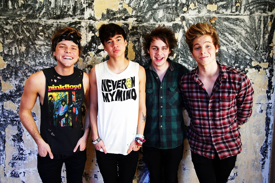 Heartthrobs? No, it's 5 Seconds of Summer. - COURTESY