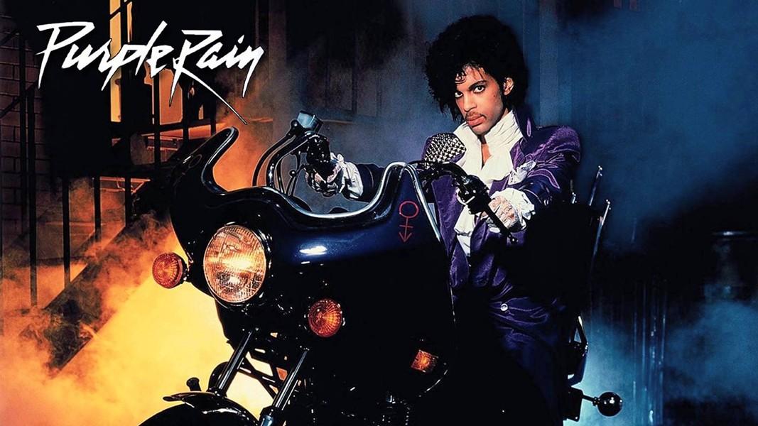 Prince in Purple Rain (1984). - YOUTUBE
