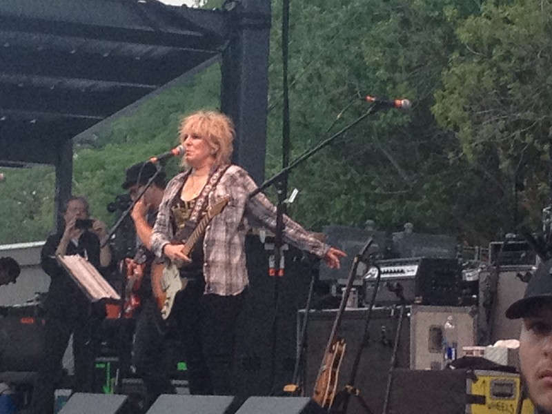 Lucinda Williams in charge. - TRAVIS BUFFKIN