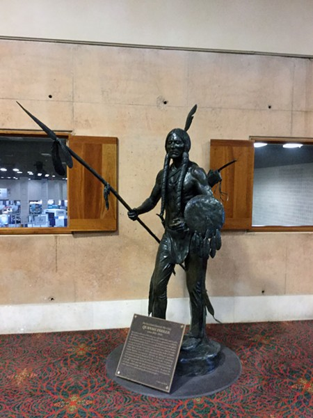 Statue of Quanah Parker - DEPARTMENT FOR CULTURE & CREATIVE DEVELOPMENT