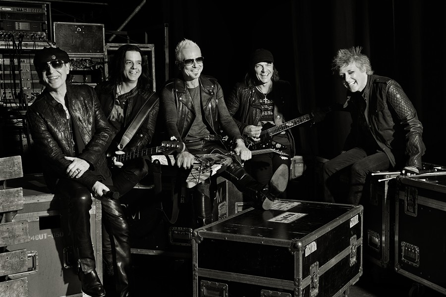 Scorpions, rocking for 50 years. - COURTESY