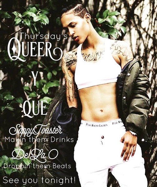 Queer y Que: LGBTQIA Thursdays poster - LA BOTÁNICA'S OFFICIAL FACEBOOK PAGE