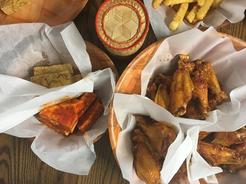 We had a bit of a wing party... - JESSICA ELIZARRARAS