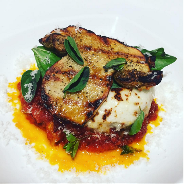 Chef Stefan's Braised Coppa Parmigiana. - INSTAGRAM @ STEFANBOWERS