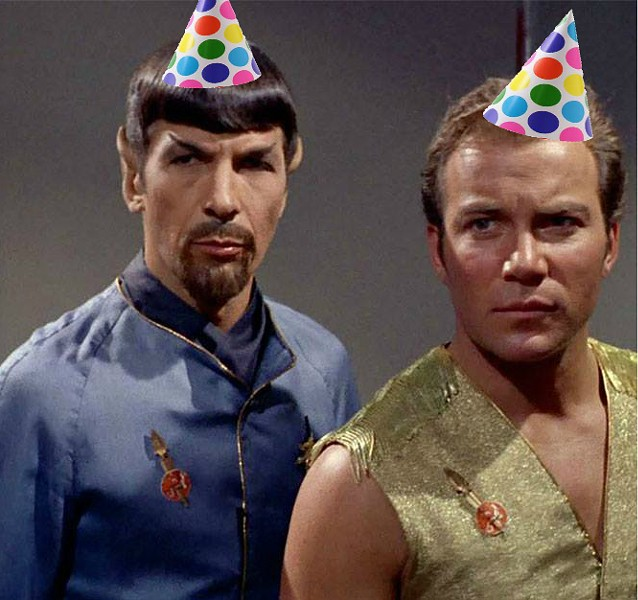 """Live long and party"" - SCREENSHOT VIA FACEBOOK.COM/STARTREK"