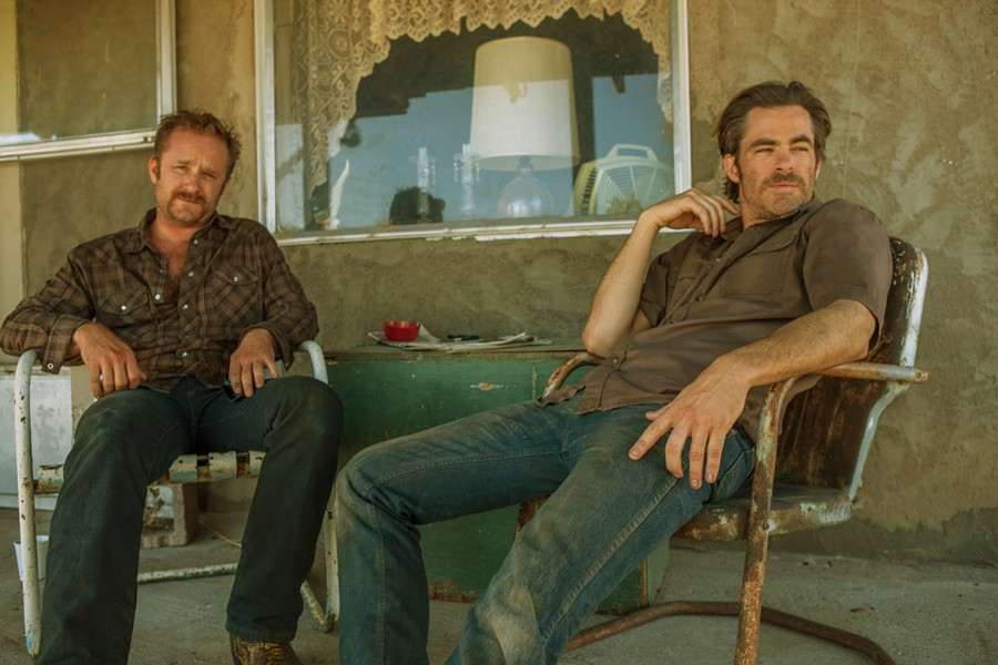 Ben Foster and Chris Pine in David Mackenzie's Hell or High Water, screening 7pm Saturday
