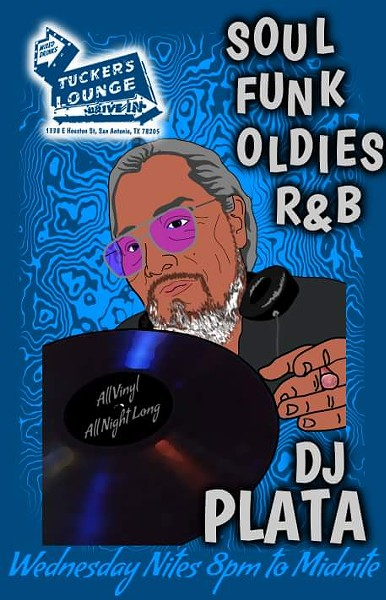 Funk, Oldies and R&B: All-Vinyl with DJ Plata poster - TUCKER'S KOZY KORNER'S OFFICIAL FACEBOOK PAGE