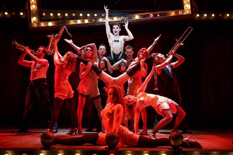 Randy Harrison (as the Emcee) stars in Roundabout Theatre's touring production of Cabaret - PHOTOS BY JOAN MARCUS