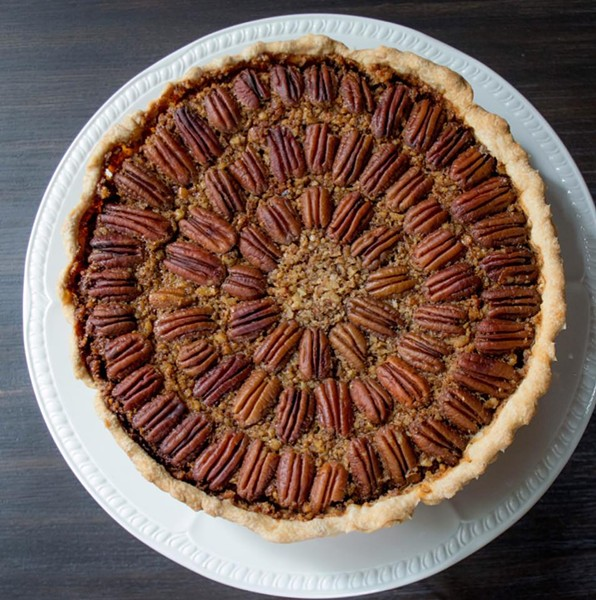 Pecan pie from The Bread Box