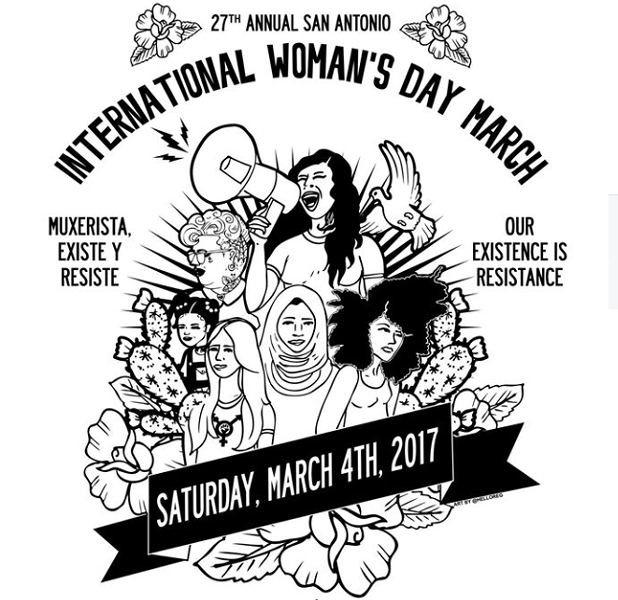 FACEBOOK, 27TH ANNUAL SAN ANTONIO INTERNATIONAL WOMAN'S DAY MARCH & RALLY