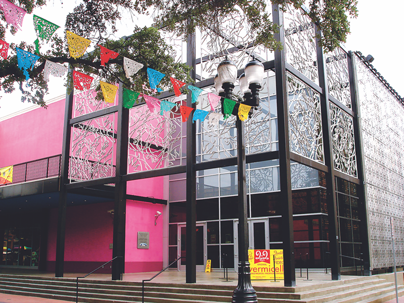 Exterior view of Museo Alameda