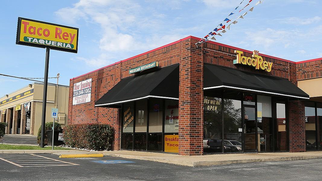 Taco Rey, 11825 West Ave. - BEN OLIVO / INSTAGRAM:TACOIST